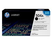 HP CE250A 504A Black LaserJet Toner Cartridge